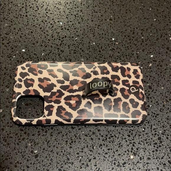 Loopy Leopard Print iPhone 11 Phone Case